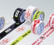 Printed packaging tapes