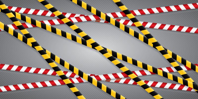 Zastosowania taśm ostrzegawczo-odgradzających